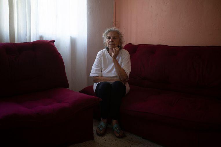 Valencia de Caro, moeder van Gilber Caro. Beeld Andrea Hernández