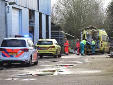Man raakt gewond door val bij bouwbedrijf in Venhorst