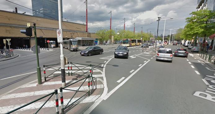 Avenue Frosny, à Saint-Gilles