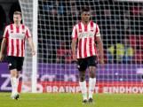 Dumfries ziet PSV opnieuw punten verspelen: 'Het is wel vervelend dat het steeds hetzelfde verhaal is'