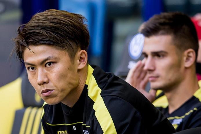Vitesse speler Kosuke Ota.