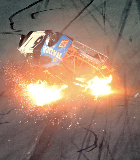 Coureur aan betere hand na horrorcrash in Daytona 500