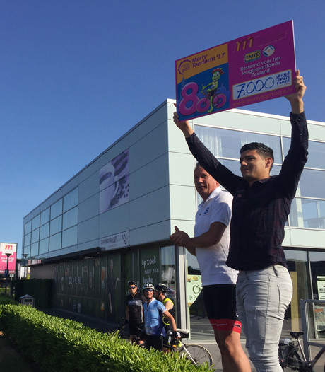 Morty Toertocht Middelburg brengt 7000 euro op voor Jeugdsportfonds