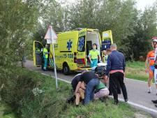 Onderzoek naar ernstig ongeluk met wielrenner op Abtswoude