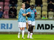 Jong Ajax pakt in Deventer eerste punten, Roda JC boekt tegen FC Dordrecht derde zege