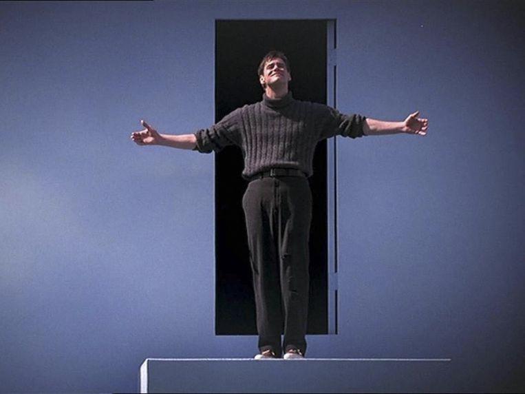 Jim Carrey in de film The Truman Show (1998). Beeld