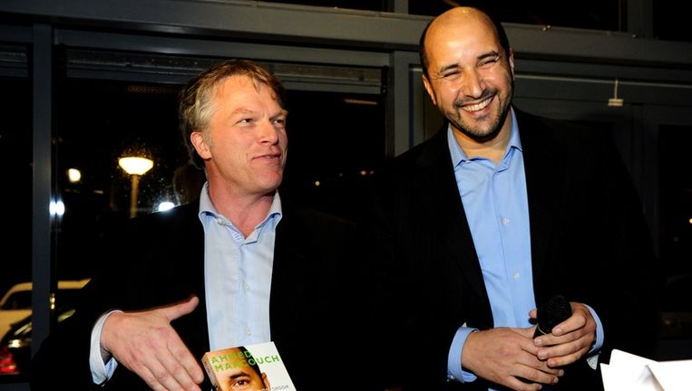 Wouter Bos en Achmed Marcouch Beeld