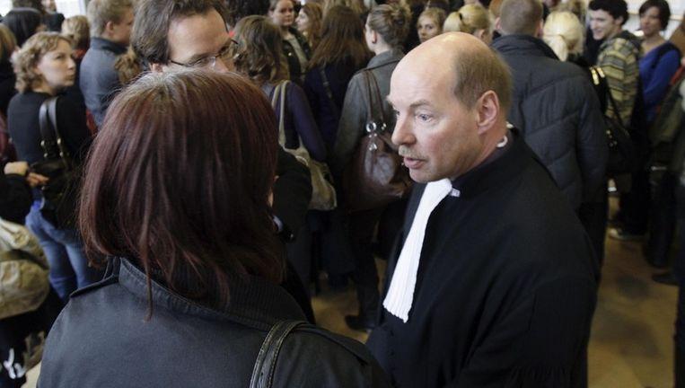 Willem Anker, de advocaat van Robert M., vindt het opvallend dat de gemeente in plaats van het Openbaar Ministerie zo vaak het woord voert in de zedenzaak rond de drie Amsterdamse kinderdagverblijven. Archieffoto ANP Beeld