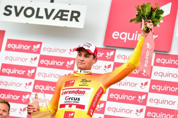 Mathieu van der Poel reed twee dagen in de leiderstrui.