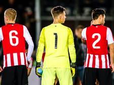 Stoelendans bij Jong PSV, dat wegzakt naar de onderkant van de eerste divisie