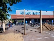 Schutting rond Albert Heijn XL St. Jacobslaan als voorbereiding voor verbouwing
