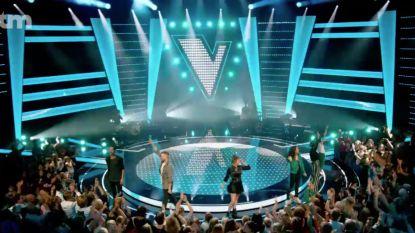 Coaches openen 'The Voice Kids' met spetterend optreden