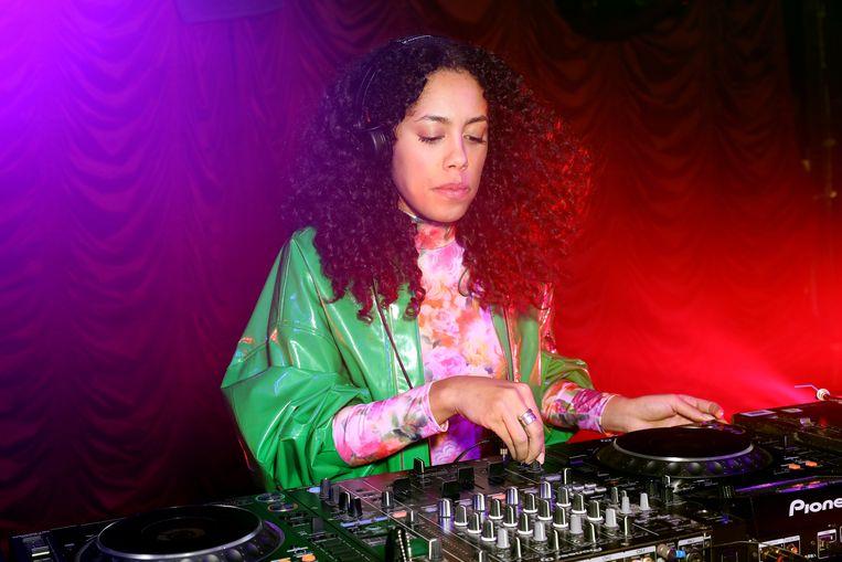 Dj Jayda G tijdens een optreden in Londen. Beeld Darren Gerrish/WireImage