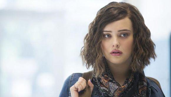 "Katherine Langford als Hannah Baker in ""13 Reasons Why"" op Netflix"