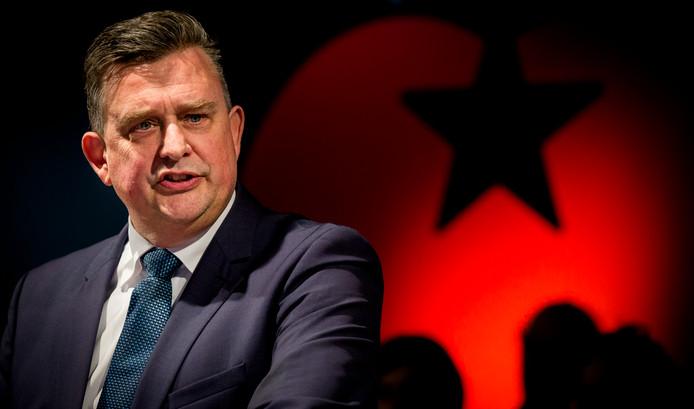'De SP wordt getest', aldus Emile Roemer op de Partijraad in Amersfoort.