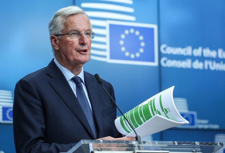 De EU-brexitonderhandelaar Michel Barnier.