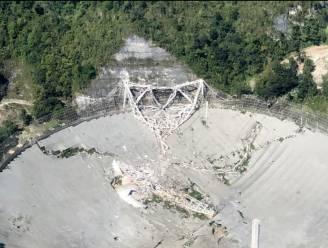 Hoewel gigantische radiotelescoop Arecibo is ingestort, sluit de site niet