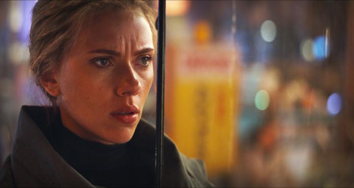 Scarlett Johansson als Black Widow.