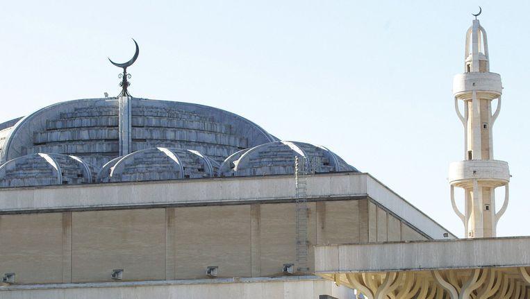 Een Italiaanse moskee in Rome. Beeld afp