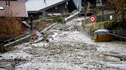 Na de sneeuw komt de modder