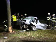 Automobiliste ernstig gewond na botsing met boom op Beerseweg