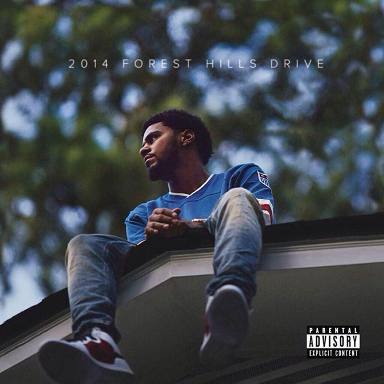 null Beeld Albumhoes 2014 Forest Hills Drive