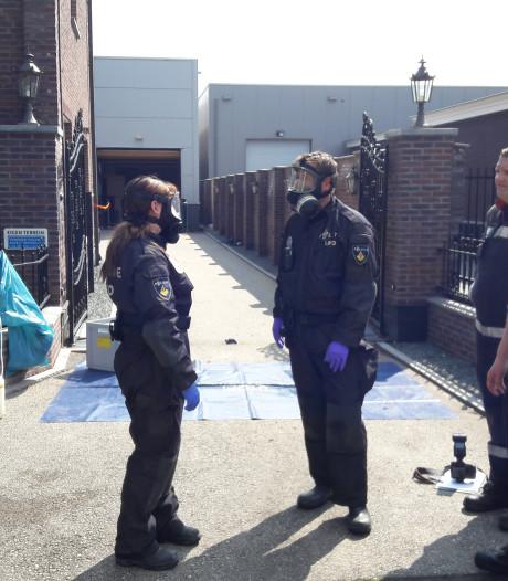 Speciale eenheid hele dag zoet met ontmanteling drugslab Berghem