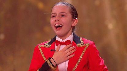 Golden Buzzer en véél tranen! 11-jarige Alexa en haar 8 dansende honden zetten 'Britain's Got Talent' op stelten