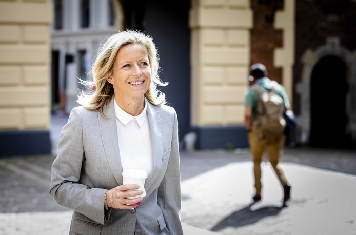 Minister Kajsa Ollongren van Binnenlandse Zaken.