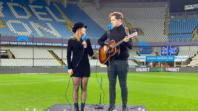 Club eert overleden fans voor match tegen KV Mechelen, The Starlings brengen pakkende versie van 'You'll Never Walk Alone'