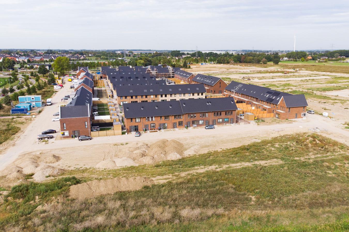 Nieuwbouw in Nijmegen-Noord. Archieffoto