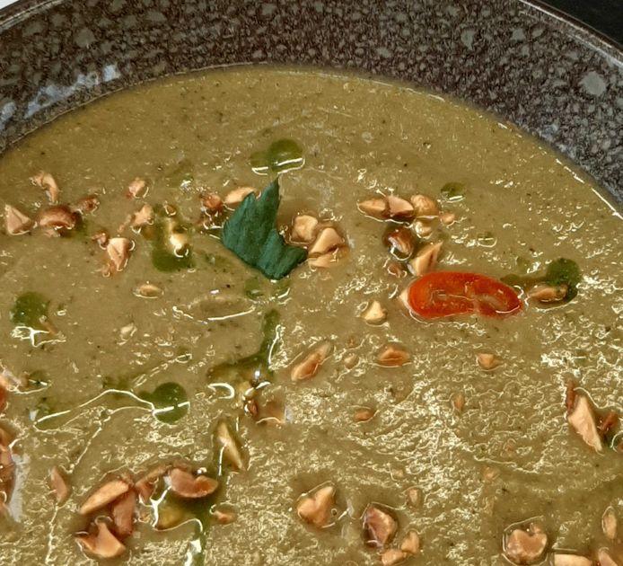 De soep van Arrie.