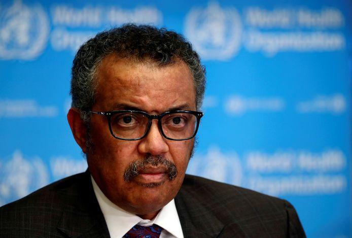 Tedros Adhanom Ghebreyesus, directeur-generaal van de WHO.