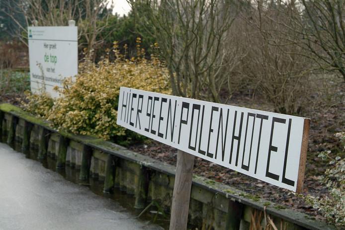 In Bodegraven wordt gevreesd voor de komst van een 'Polenhotel'.