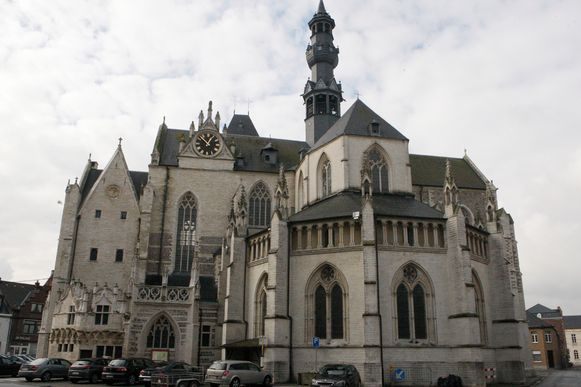 Hét pronkstuk van Zoutleeuw is de Sint-Leonarduskerk.