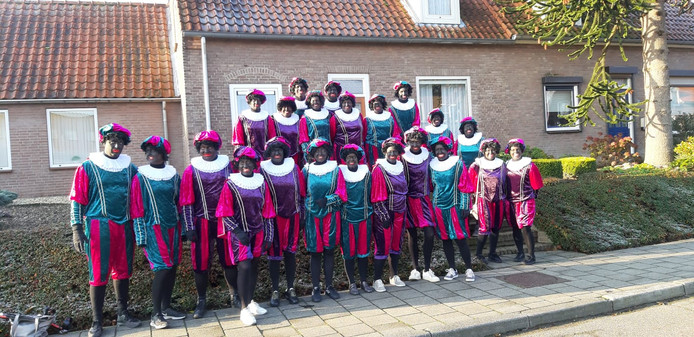 Zwarte Pieten in Groesbeek