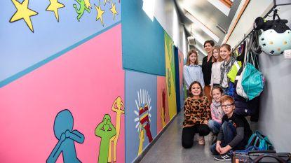 Keith Haring 28 jaar na dood springlevend in schooltje Bellewij