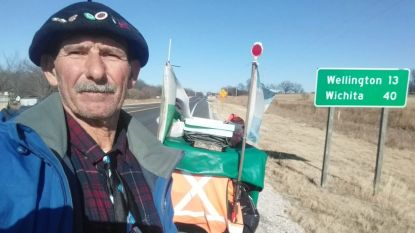 Argentijnse avonturier (62) moet heroïsche voettocht dwars door Amerika na 23.000 km staken door corona