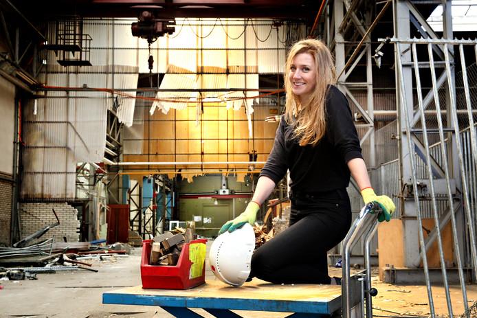 Linda Post maakt producten van onderdelen van Rotterdamse iconen.