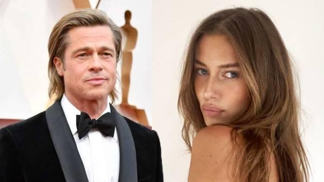 Ze is 29 jaar jonger, komt uit Duitsland en heeft al een man: dit is Nicole Poturalski, de nieuwe vlam van Brad Pitt