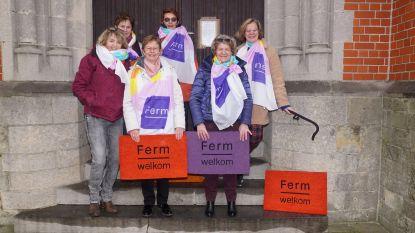 KVLV heet voortaan Ferm: Afdeling Oudenaken-Sint-Laureins-Berchem deelt vloermatten uit met nieuwe naam