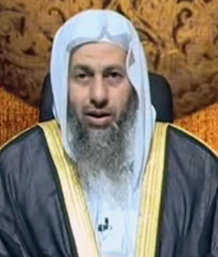 De Marokkaanse radicaal islamistische prediker Mustafa al-Adawi. Beeld null
