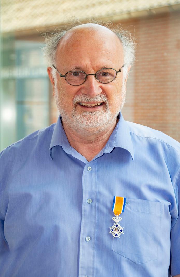 Emmanuel Naaijkens (65) is benoemd tot Lid in de Orde van Oranje-Nassau.