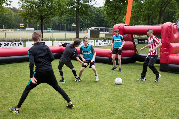 Speciale voetbaldagen op sportpark Heeze