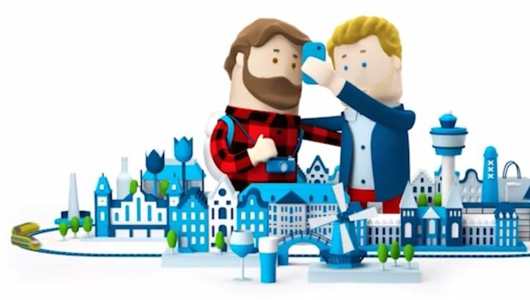 Locals en reizigers kunnen elkaar ontmoeten op basis van gedeelde interesses Beeld KLM