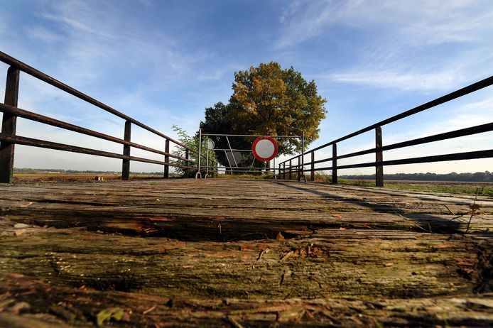 Het bruggetje aan de Klotweg werd al wel opgeknapt, enkele jaren geleden alweer.