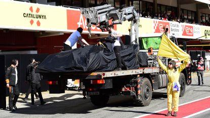 Alweer problemen bij McLaren op testvierdaagse: motor moet vervangen worden na olielek