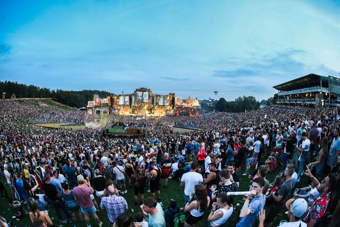 Het incident deed zich vrijdagavond voor aan het hoofdpodium van Tomorrowland.