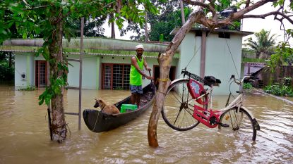 Dodental overstromingen in India loopt op tot 375