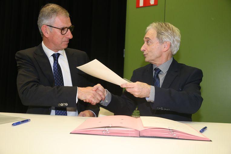 Eedaflegging burgemeester Melle, Dirk De Maeseneer.